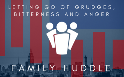 Letting go of grudges, bitterness and anger
