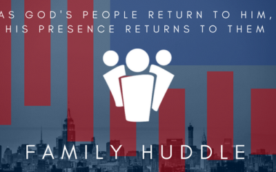 As Gods people return to Him, His presence returns to them!